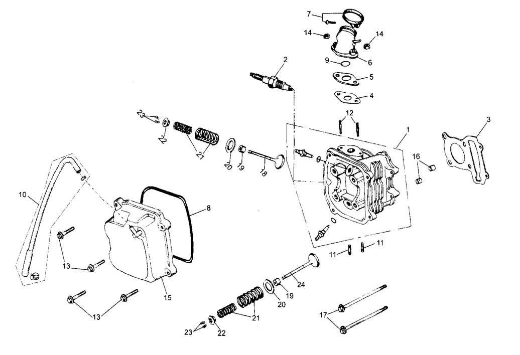 Hammerhead Go Kart Wiring Diagram  Parts  Wiring Diagram Images
