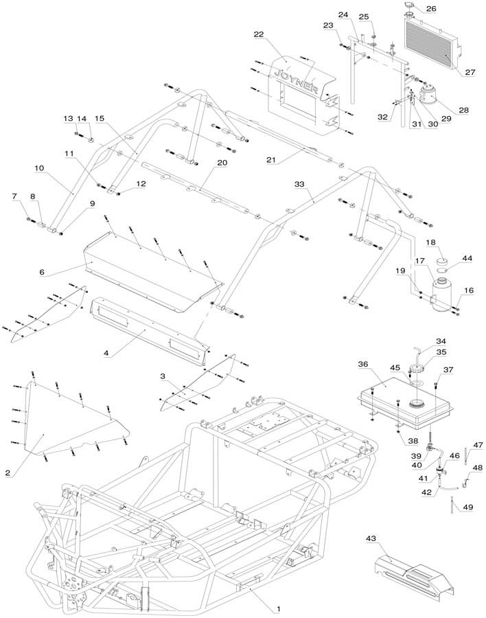 Ford 1210 Steering Parts : Ford tractor hydraulic diagram imageresizertool