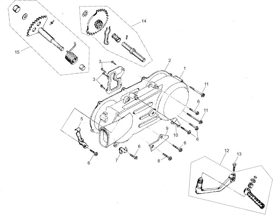 Hammerhead LM150IIR Left Cover Assembly