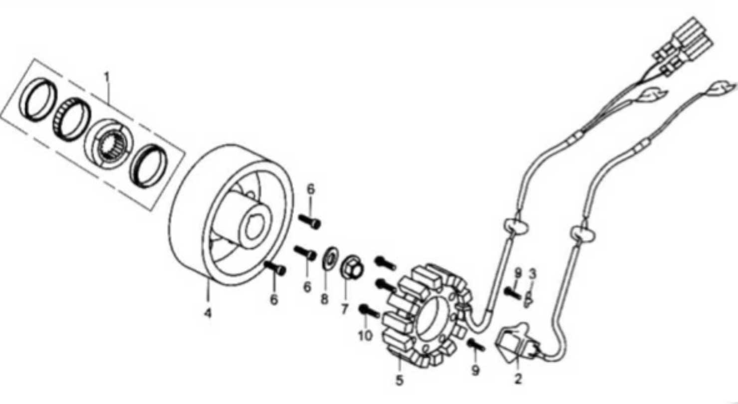 bmx 110cc atv wiring diagram