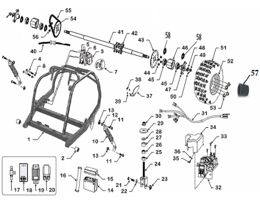 Buggy 150cc Gy6 Engine Diagram Html Com