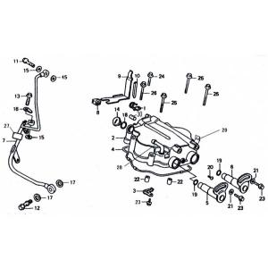 OEM Parts - 250cc Cylinder Valve Cover Area