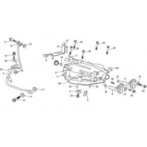 Hammerhead 250cc - Cylinder Cover Assembly