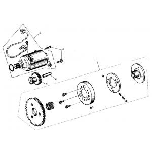 150cc GY6 Electric Starter
