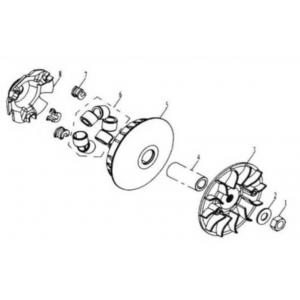 Hammerhead 250SS (Super Sport) Front Clutch Assembly