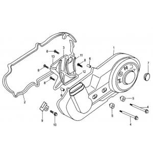 Hammerhead 250cc - Left Side Cover Assembly