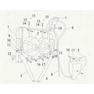 Joyner Dirt Devil 250cc - Radiator Assy