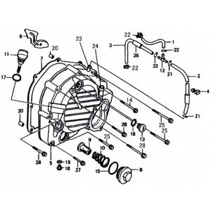 OEM Parts - 250cc Right Side Cover Area