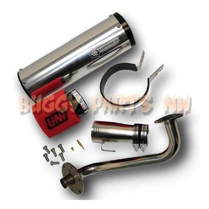 HHP High Performance Exhaust for 150cc Buggies