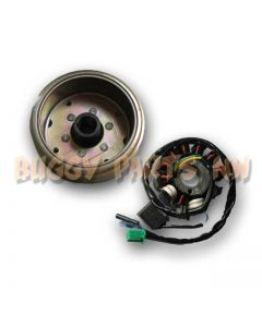11-Pole Stator and Flywheel for GY6